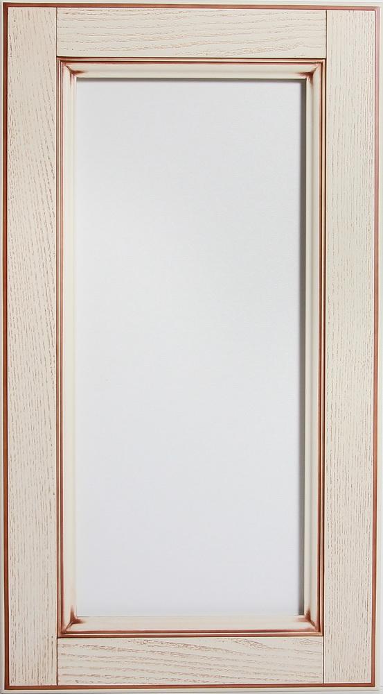 Фасад Витрина шпон бежевая с термошвом