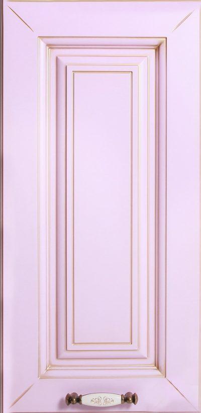 Фасад Белла краска матовая + патина золото