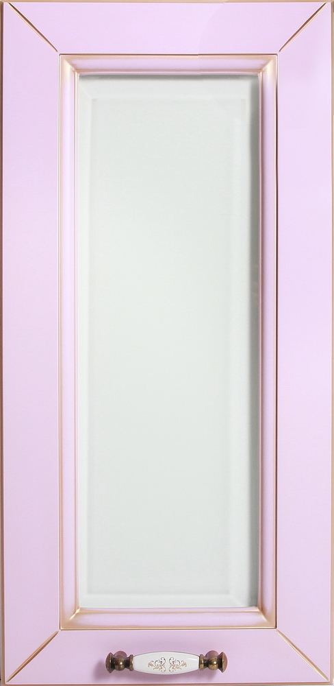 Белла витрина №1 простая краска глянец