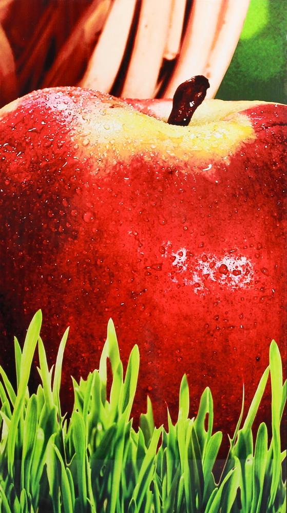 Фасад фотопечать яблоко