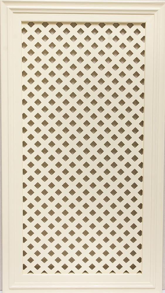 Фасад Массив Венето с решеткой эмаль №10 (ясень)